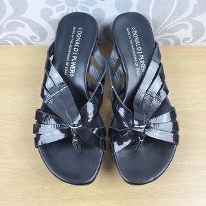 Donald Pliner platform sandal
